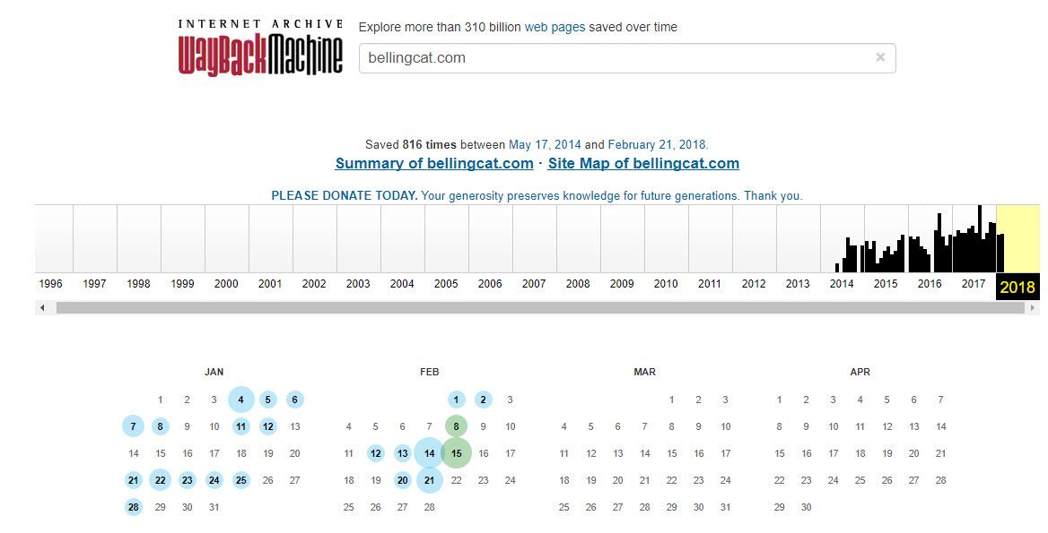 bellingcat - How to Archive Open Source Materials - bellingcat