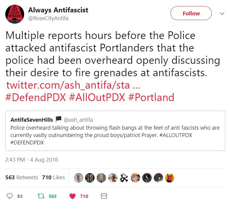 Фашистские активисты пытаются завоевать расположение полиции