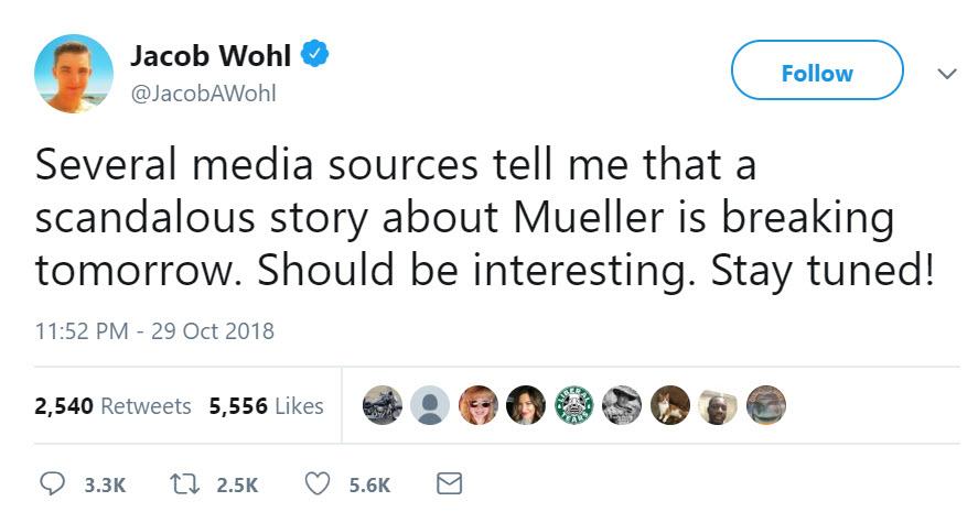 А вас, Джейкоб Воль, я попрошу остаться: как сторонник Трампа выдумал расследовательскую фирму ради компромата на спецпрокурора Мюллера
